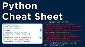 Python-Cheat-Sheet-Basics