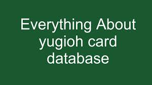 Yugioh-Card-Database