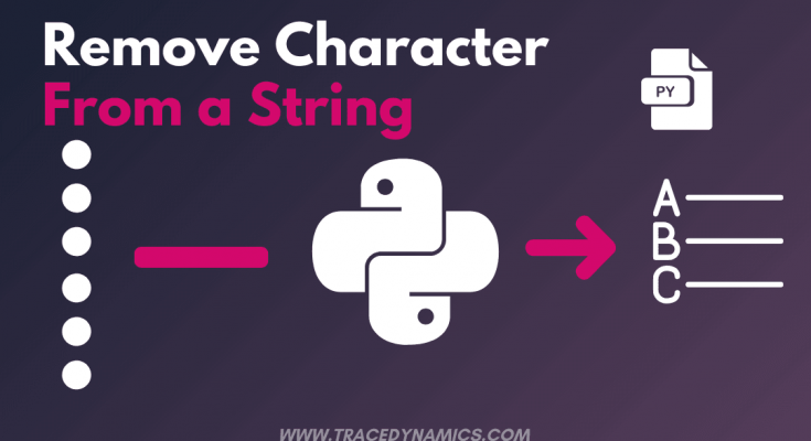 python-remove-character-from-string
