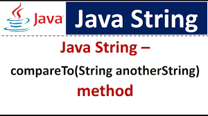 Java-String-compareTo
