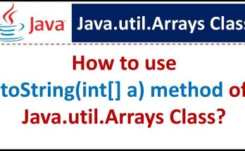 Java-util-Arrays-toString