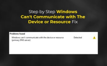 fix-windows-cant-communicate-with-the-device-or-resource-error
